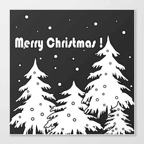 Merry Christmas ! Canvas Print
