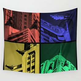 Chrysler Pop Art Wall Tapestry