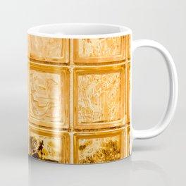 Orange Glass Coffee Mug