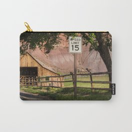 Capitol Reef Barn - Gifford Homestead - Utah Carry-All Pouch