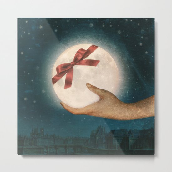 For You... The Moon Metal Print