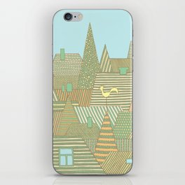 Rooftops iPhone Skin