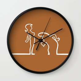 La Linea - The moments Wall Clock