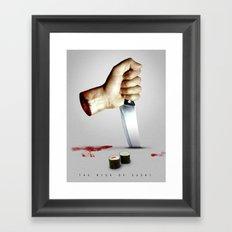 Sushi Rise Framed Art Print