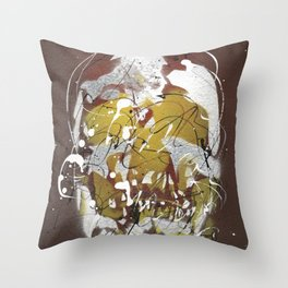 Skull #8 Throw Pillow