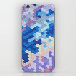 Nebula Hex iPhone Skin