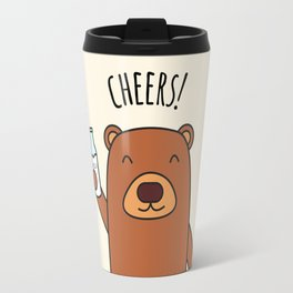 Cheers, Bear! Travel Mug