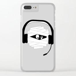 Mummy Gamer Clear iPhone Case