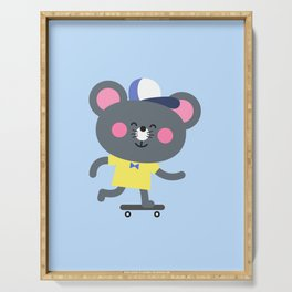Cool Skateboard Mouse Serving Tray
