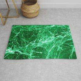 Green marble granite stone texture Rug