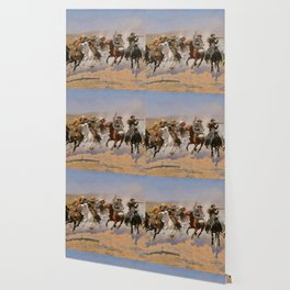 A Dash for the Timber - Frederic Remington Wallpaper