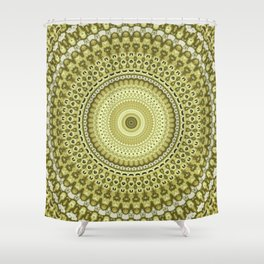 Fractal Kaleido Study 003 in CMR Shower Curtain