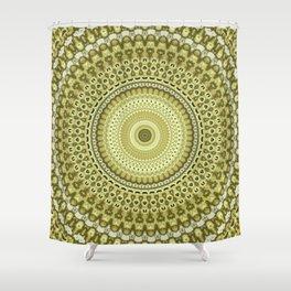 Fractal Kaleido Study 003 in CMR Shower Curtain