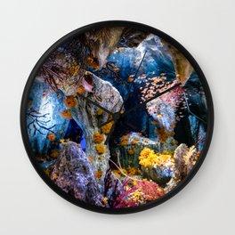 Enchanted Caves Wall Clock
