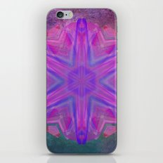 Jeweled splendor in vibrant pink iPhone & iPod Skin