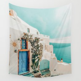 Holiday Home #travel #photography Wall Tapestry