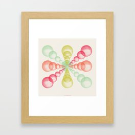 Children's Spring Party Framed Art Print