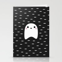 ghost Stationery Cards featuring Ghost by Elisabeth Fredriksson