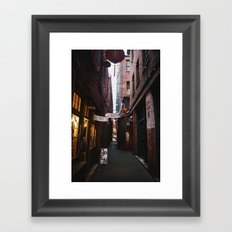 Alley Way Framed Art Print