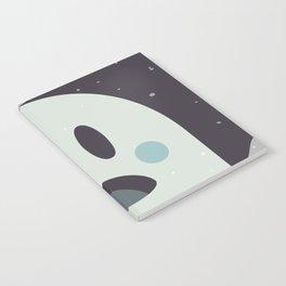Surprised Ghosty Notebook