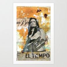 El Tiempo Art Print