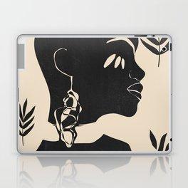 Tropical Girl /Abstract Minimal Laptop & iPad Skin