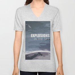 Explosions In The Sky Unisex V-Neck