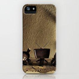 triple trouble iPhone Case