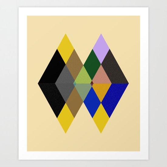 Abstract #712 Art Print