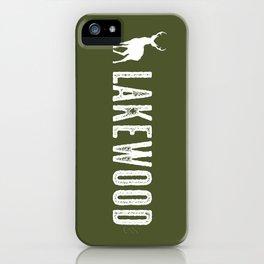 Deer: Lakewood, Colorado iPhone Case
