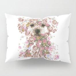 Vintage doggy Bichon frise.DISCOVER Pillow Sham