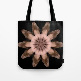 K-5067 Intimate Sexual Mandala Nude Female Naked Closeup Vulva Abstracted Sensual Sexy Erotic Art Tote Bag