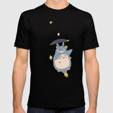 Totoro 2X-LARGE Black Mens Fitted Tee