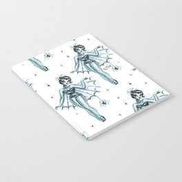 Black Widow Burlesque Doll Notebook