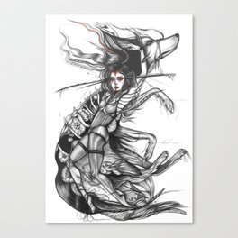 Wolfe Canvas Print