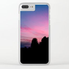 just missed golden hour Clear iPhone Case