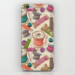 I Am Crafty iPhone Skin