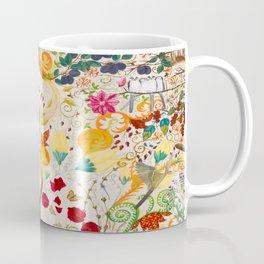 Fantasy Jacobean Forest Coffee Mug