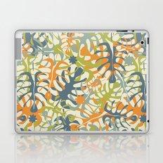 Summer tropical leaves Laptop & iPad Skin