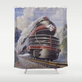 Lehigh Valley Railroad - The John Wilkes Shower Curtain