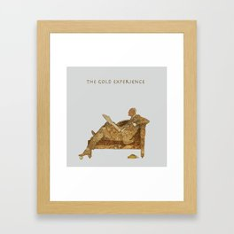 THE GOLD EXPERIENCE Framed Art Print