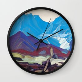 Nicholas Roerich - From Beyond - Digital Remastered Edition Wall Clock