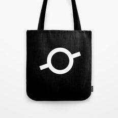 Sad Eye Black Tote Bag