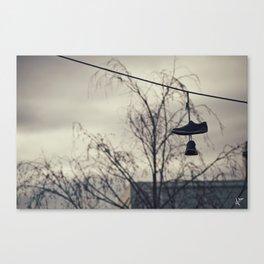 Sneaker Dusk  Canvas Print