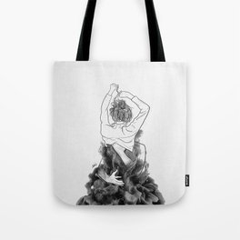 I want to know you little more deep. Tote Bag