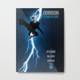 The Thunder God Returns Metal Print