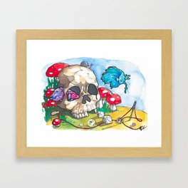 Patch Things Up Framed Art Print