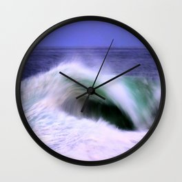 The Moving Ocean Wall Clock