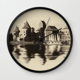 Castle of Trakai Wall Clock