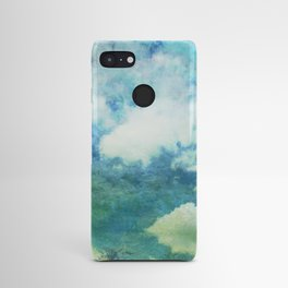Partly cloudy Android Case